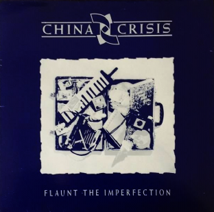 China Crisis ‎- Flaunt The Imperfection (LP) (VG-EX/VG)